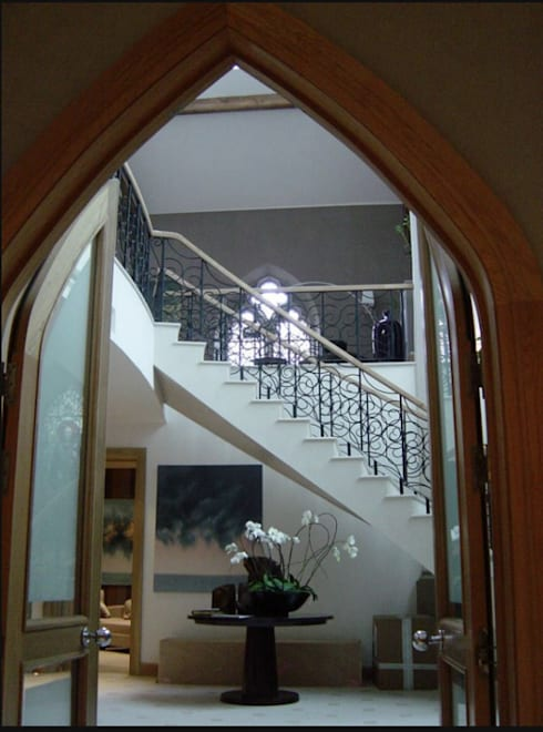 الممر والمدخل تنفيذ 4D Studio Architects and Interior Designers