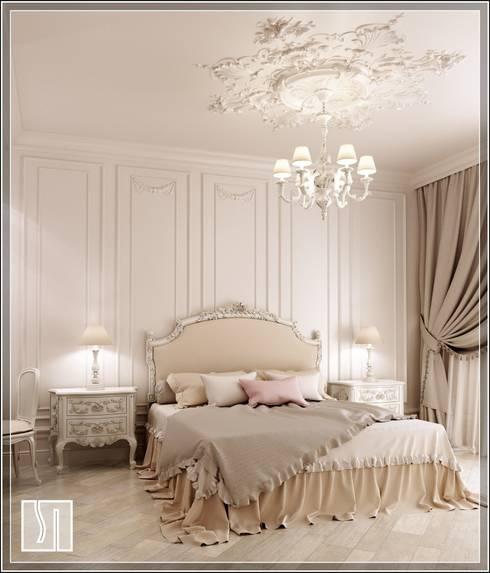 غرفة نوم تنفيذ Студия дизайна Светланы Исаевой