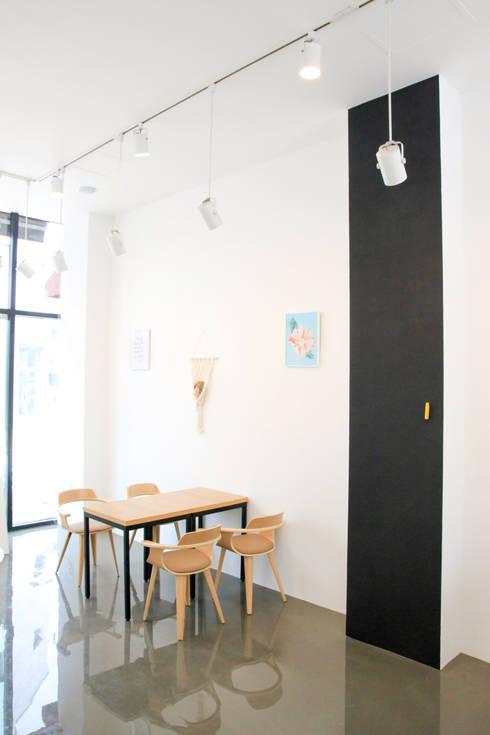 수원 영통구 원천동 카페 Melero 인테리어 리모델링: 그리다집의