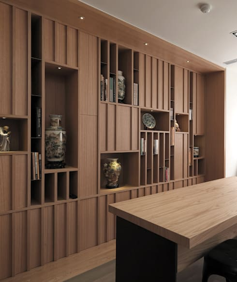Study/office by 形構設計 Morpho-Design