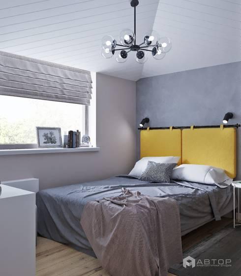 Спальня: Спальни в . Автор – Архитектурная студия 'АВТОР'