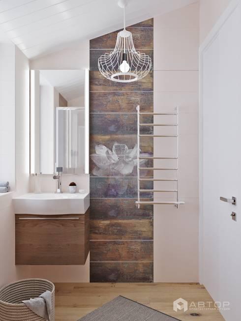 Ванная: Ванные комнаты в . Автор – Архитектурная студия 'АВТОР'