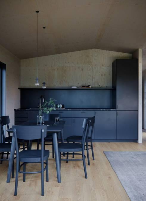 Модульный деревянный дом 53 кв.м: Кухни в . Автор – Module dom