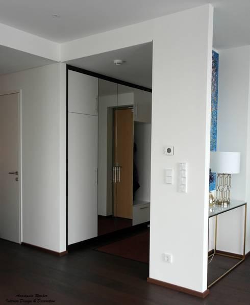 Vorzimmer, Eingang:  Flur & Diele von Anastasia Reicher Interior Design & Decoration in Wien