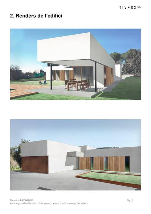 Imágenes de proyecto: Jardines delanteros de estilo  de Divers Arquitectura, especialistas en Passivhaus en Sabadell