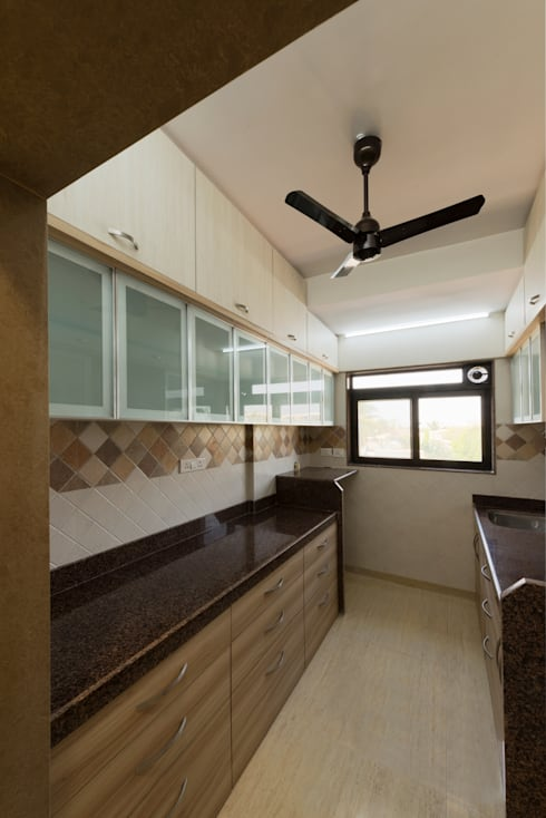 Another View of the Kitchen :   by Chaitali Shah