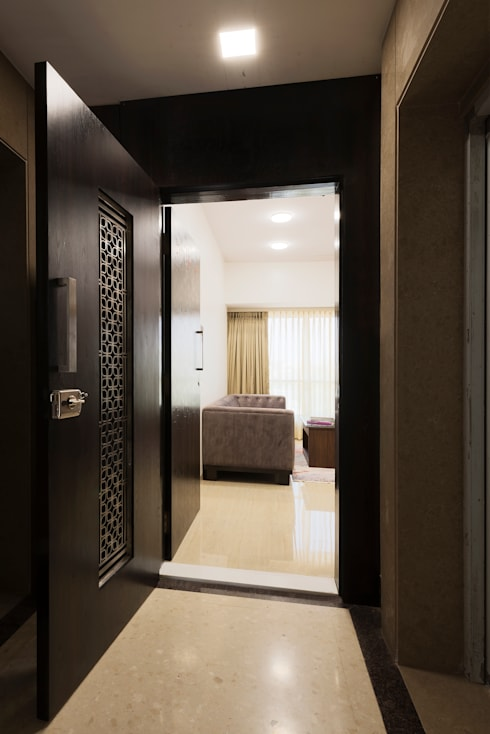 Entrance- Main and Safety Door :   by Chaitali Shah