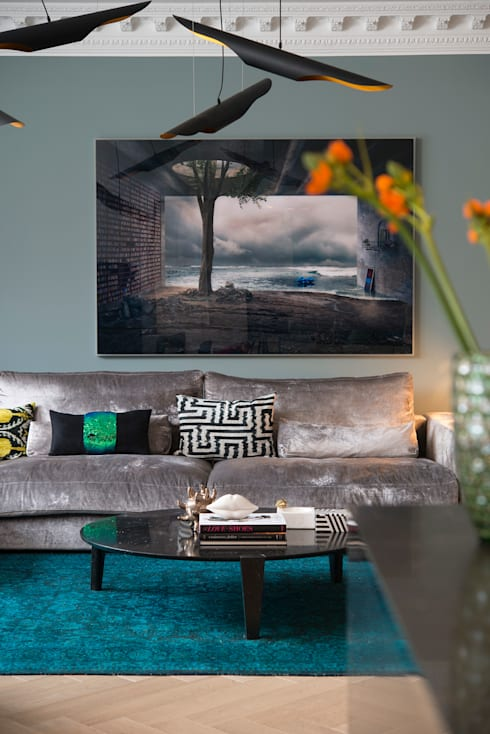 Arzu Kartal Interior Studio & Concepts의  거실