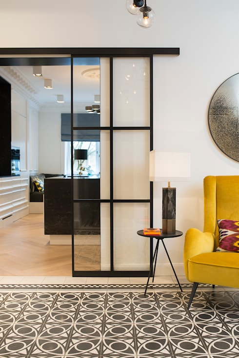 Arzu Kartal Interior Studio & Concepts의  복도 & 현관