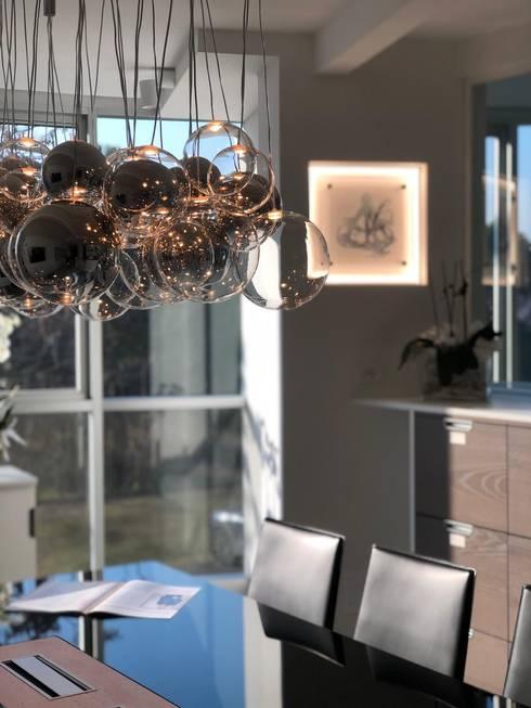 Ufficio Allianz Bank Private: Complessi per uffici in stile  di serenascaioli_progettidinterni