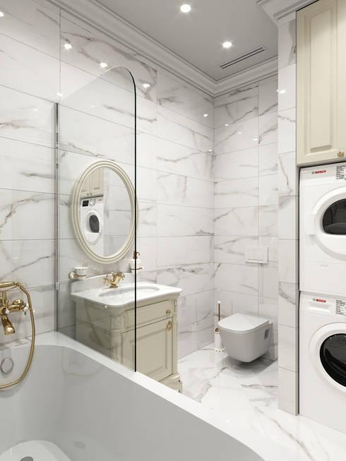 Bathroom by Дизайн интерьера Киев|tishchenko.com.ua