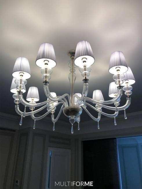 Salas de estilo  por MULTIFORME® lighting