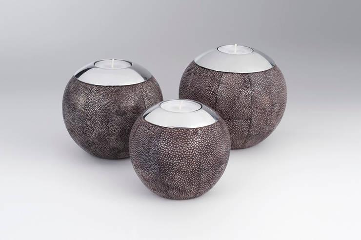 Teelichter Rochenleder:  Haushalt von Amaris Elements