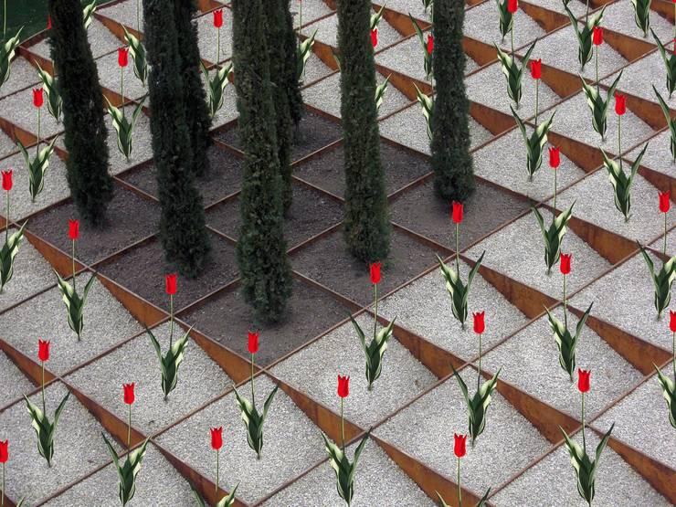 """BUGA-Garten """"Römer und Limes"""" 05: moderner Garten von Planungsbüro STEFAN LAPORT"""