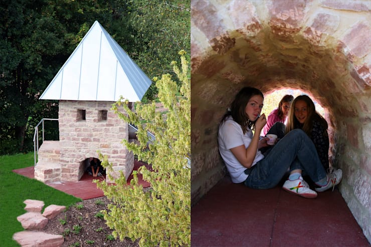 Der Abenteuerspielplatz: klassischer Garten von Planungsbüro STEFAN LAPORT