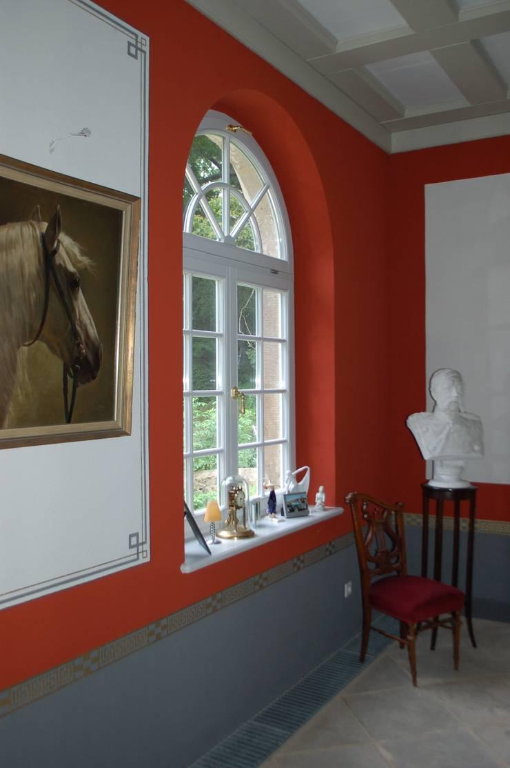 königl. Jagdhaus :  Flur & Diele von Wandmalerei & Oberflächenveredelungen