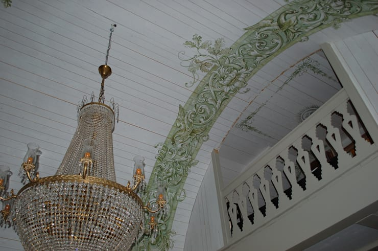 königl. Jagdhaus :  Wohnzimmer von Wandmalerei & Oberflächenveredelungen