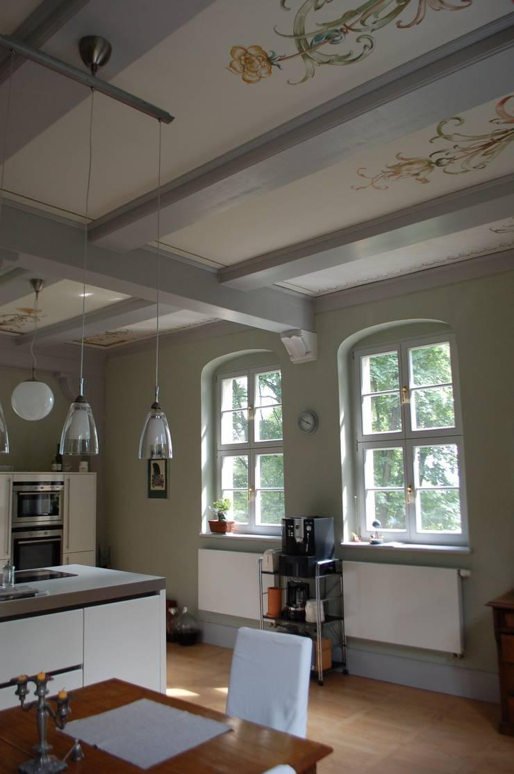 königl. Jagdhaus :  Esszimmer von Wandmalerei & Oberflächenveredelungen