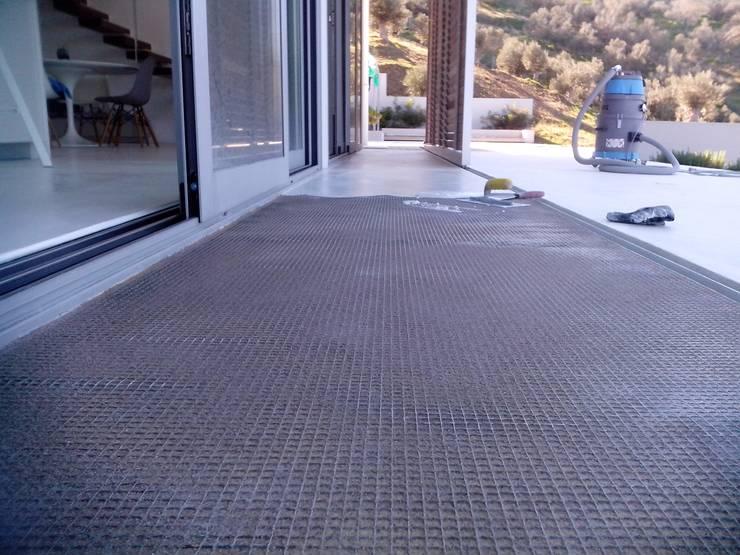 Fußboden In Betonoptik ~ Spachtelböden im außenbereich betonoptik von fugenlose