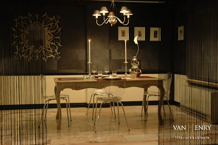 """Wohnung """"New York"""":  Wohnzimmer von vanHenry interiors & colours"""
