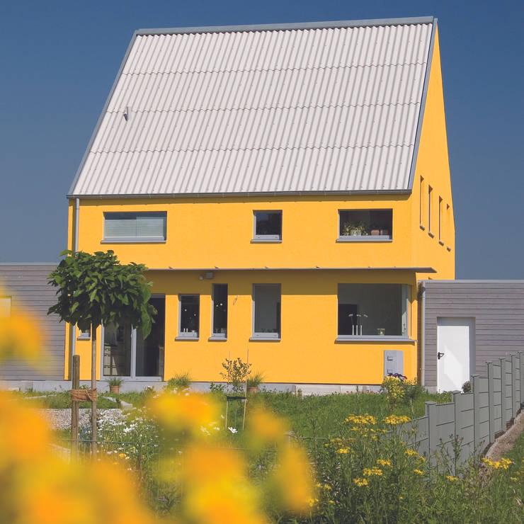 Haus S.: ausgefallene Häuser von Architekturbüro Riek