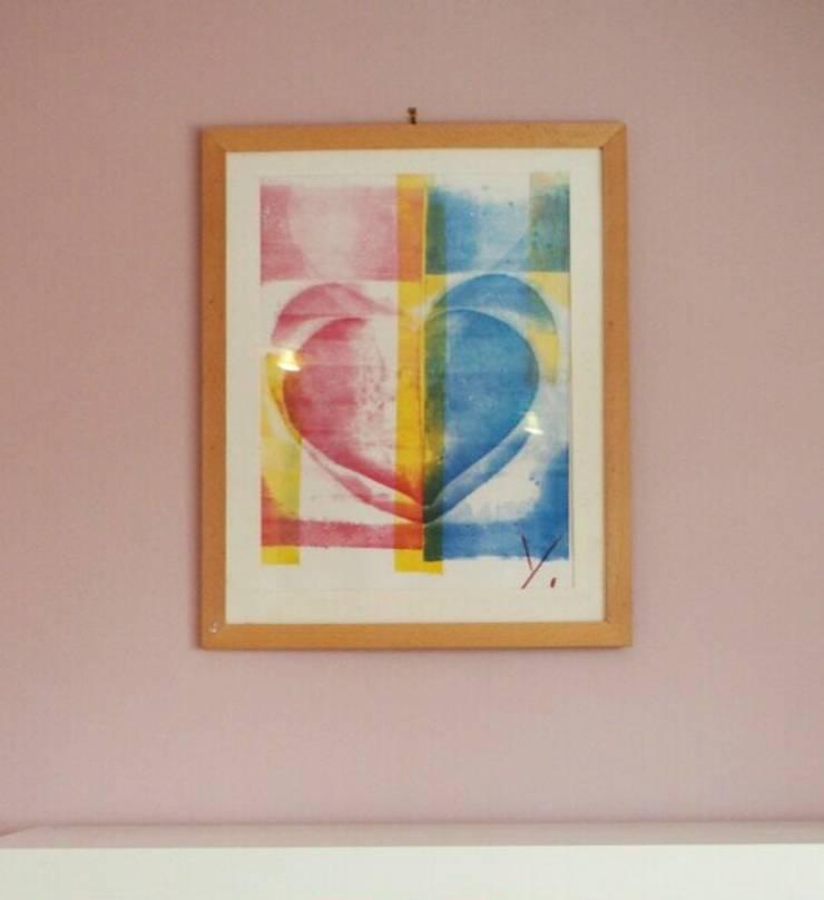 Rosa Impressionen: moderne Wohnzimmer von Einrichtungsideen