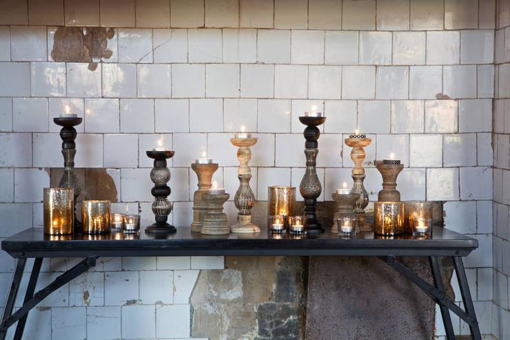 BePureHome kandelaren Genie, Sculpture, Glow en Clear.:   door BePureHome, Scandinavisch