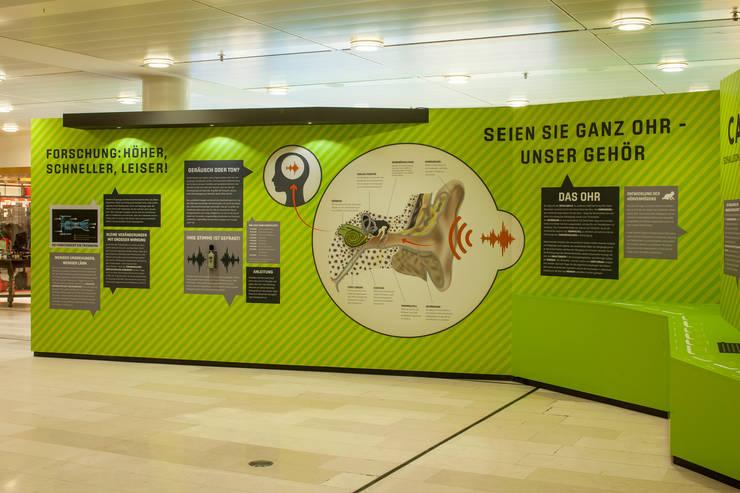 Informationen, wie das Ohr funktioniert, wie laut ist eigentlich ....:  Flughäfen von Hellmers P2 | Architektur & Projekte