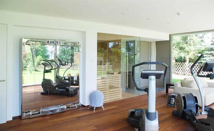 Fitness & Sauna:  Fitnessraum von Peter Rohde Innenarchitektur