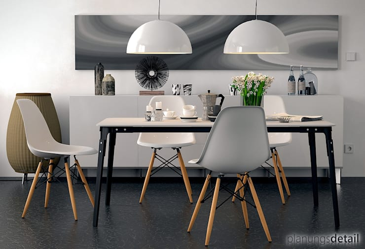 Modern Dining Room by planungsdetail.de GmbH Modern