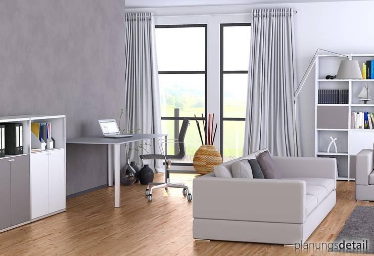 Homeoffice:  Arbeitszimmer von planungsdetail.de GmbH