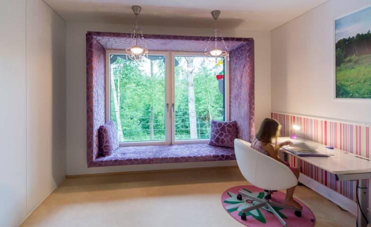 Wohnhauserweiterung D2:  Kinderzimmer von [lu:p] Architektur GmbH