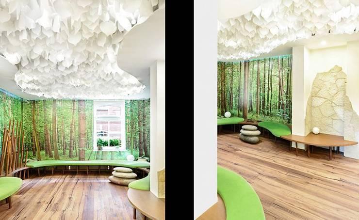 Estudios y despachos de estilo  de [lu:p] Architektur GmbH
