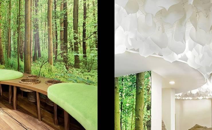 Oficinas y tiendas de estilo  por [lu:p] Architektur GmbH