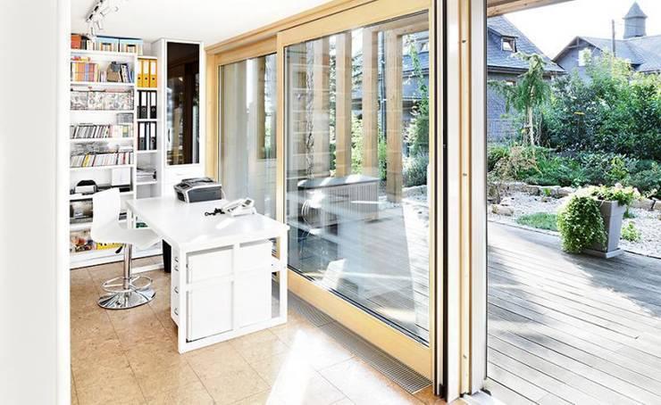 Study/office by [lu:p] Architektur GmbH