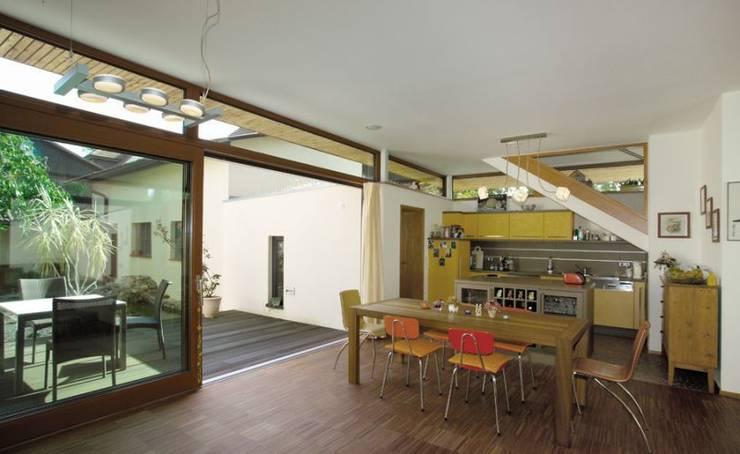 Wohnhaus W:  Esszimmer von [lu:p] Architektur GmbH