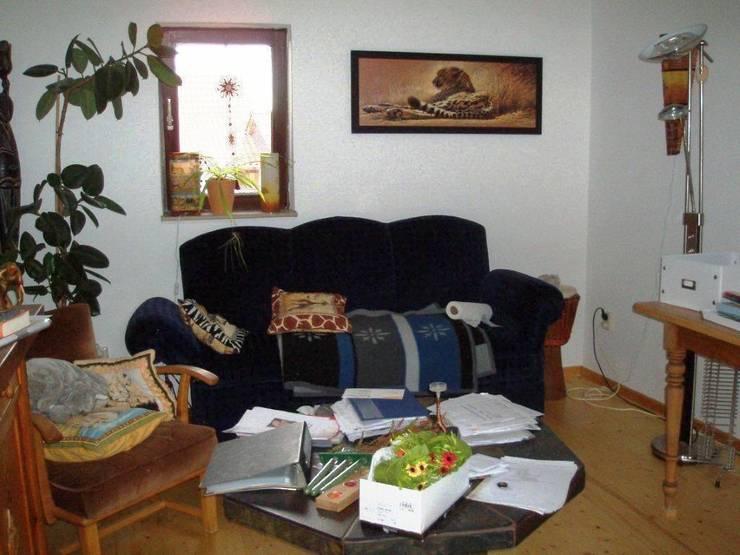 Arbeitszimmer vorher:  Wohnzimmer von ImmoLotse24