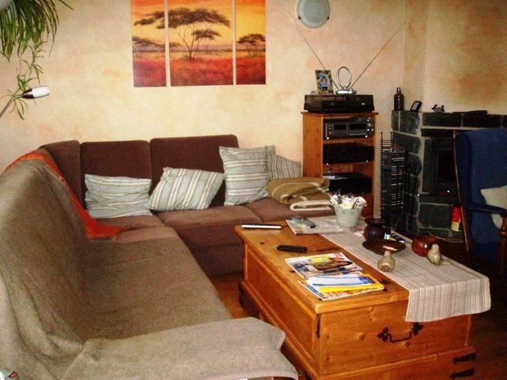 Wohnzimmer vorher:  Wohnzimmer von ImmoLotse24