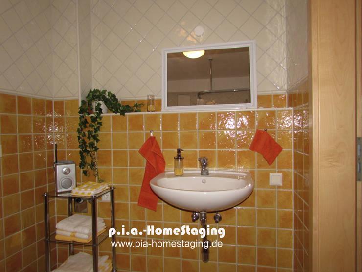 Nasszelle gestaged:  Badezimmer von ImmoLotse24