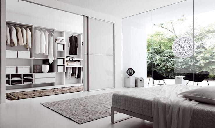 modern Bedroom by Egger`s  Einrichten