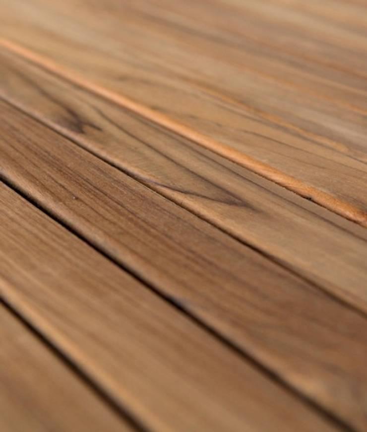 Teak Terrassendielen 50mm:   von BETTERWOOD