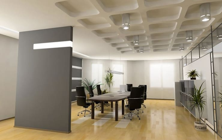 Meetingraum:  Arbeitszimmer von Thomas & Co Interior Design GmbH