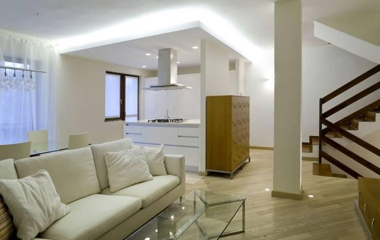Küche  und Wohnbereich:  Küche von Thomas & Co Interior Design GmbH