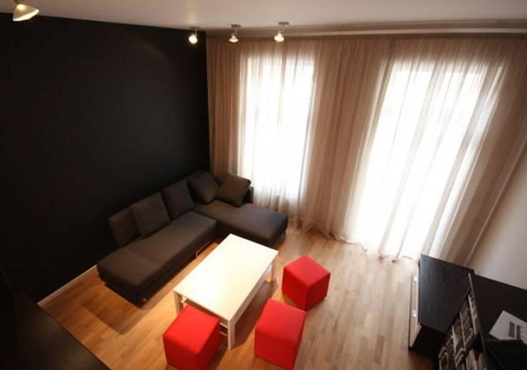 Wohnung Berlin-Prenzlauer Berg:  Wohnzimmer von RAUMAX GmbH