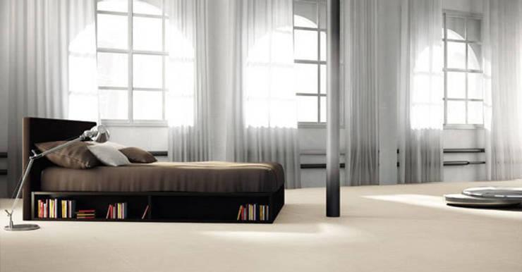 Loft: moderne Schlafzimmer von RAUMAX GmbH