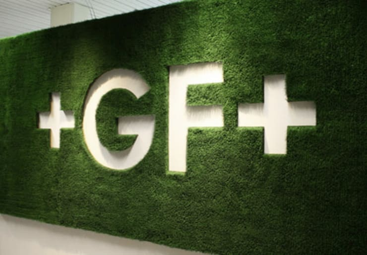 Logos aus Gras:   von Grassland