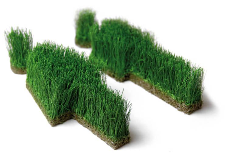 Wandbilder und Formen aus Gras:   von Grassland