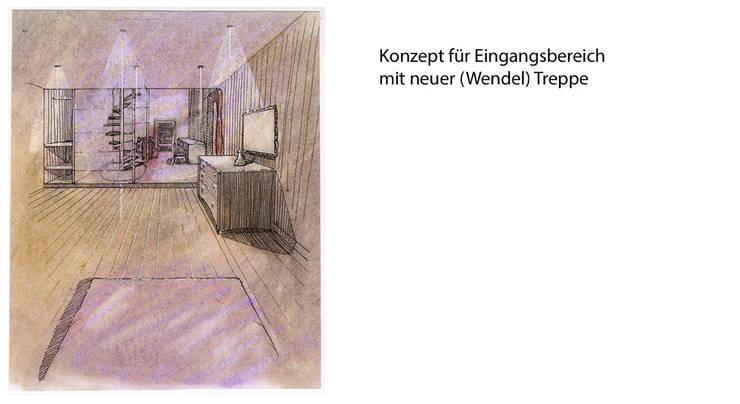 Zeichnungen: moderne Schlafzimmer von vanHenry interiors & colours