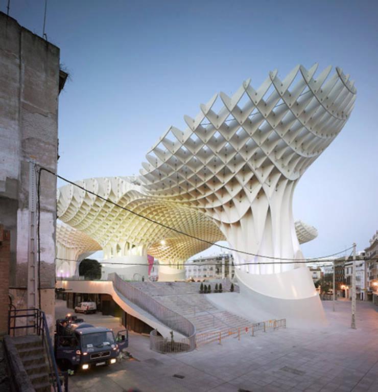 METROPOL PARASOL – Redevelopment of Plaza de la Encarnacion, Seville, Spain:  Kongresscenter von J.MAYER.H