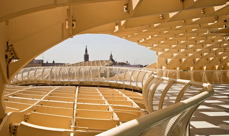 METROPOL PARASOL - Redevelopment of Plaza de la Encarnacion, Seville, Spain:  Kongresscenter von J.MAYER.H